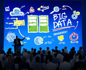 Diversity Business People Big Data Seminar Conference Concept